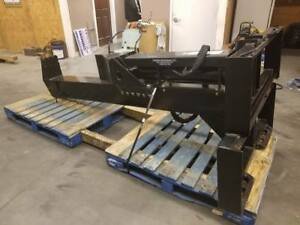 Log wood Splitter Skid Steer Loader Attachment Bobcat Gehl Kubota Gehl Cat Asv