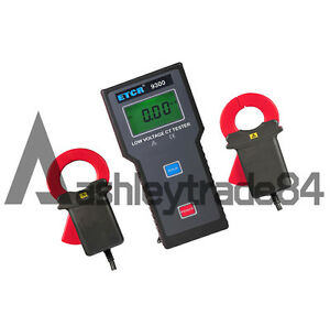 Brand New Etcr9300 Low Voltage Current Transformation Ratio Tester Meter