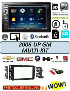 2006 2015 Chevrolet Impala Equinox Traverse Stereo Radio Dvd Usb Touchscreen