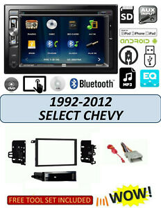 1992 2012 Chevrolet Impala Malibu S10 Bluetooth Touchscreen Dvd Car Stereo Combo