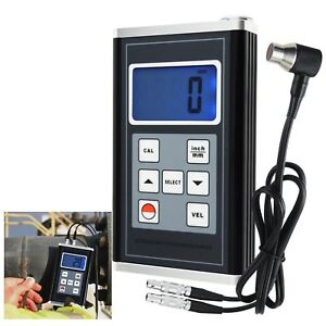 Digital Ultrasonic Thickness Meter Gauge Aluminum Steel Zinc Pvc Iron Pipes