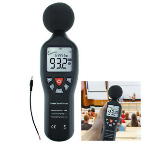Professional High Accuracy Compact Sound Level Meter 30db 130db Measuring Range
