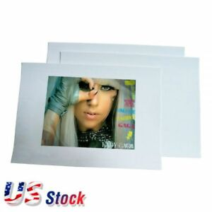 Us Stock 100 Sheets A4 Dark Color T shirt Heat Transfer Paper For Press Printing