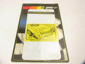 Mr Gasket 6511 License Plate Cover Clear High Impact Lexan