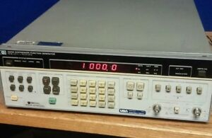 Hp Synthesizer function Generator 3325a