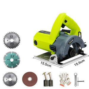Industrial grade Electric Metal Wood Stone Tile Cutting Machine 220v 1500w