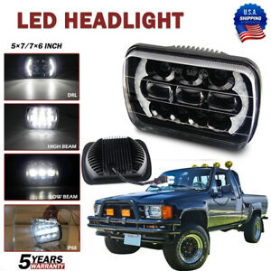 5x7 7x6 Led Headlight H4 Bulbs Drl Light For Chevrolet Express 1500 2500 3500