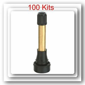 100 Kits Tr602hp High Pressure Tire Wheel Valve Stems