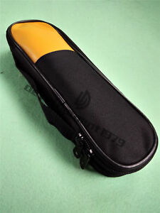 Double Zipper Carry Soft Case bag Use For Clamp Meter Fluke T5 600 T5 1000 New