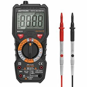New Digital Multimeter Tester Trms 6000 Counts Non contact Voltage Detection Amp