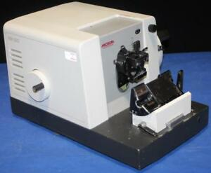 Microm Neidelberg Nm 230 D 6900 Rotary Microtome West Germany Nm230 Ships Free