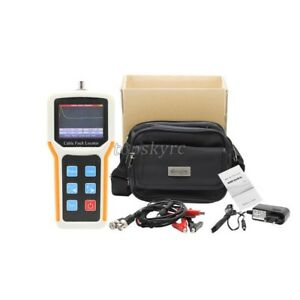 Tm800n Tl260 8 Cable Fault Locator 8km Cable Tester Speed Accurate Test Lcd