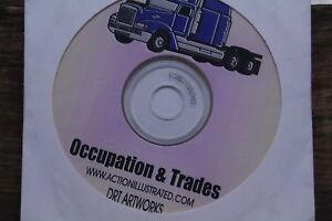 Action Illustrated Clip Art Occupation Trades 1000 Eps Vector Images Artwork