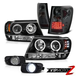 Jeep 1999 2003 Grand Cherokee Wj Projector Headlamps led Tail Light smd Fog Lamp