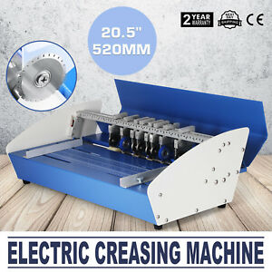 20 5 Electric 3 in 1 Scorer Perforator Paper Creasing Machine Scoring Creaser