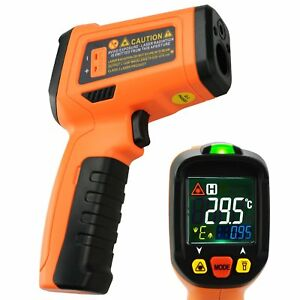 Digital Display Uv Light Infrared Ir Laser Thermometer 50 800 c 58 1472 f