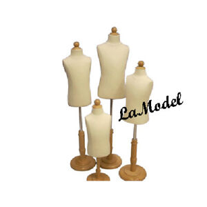 Children child kid Mannequin 4 Units Group High Quality Store Display Dress Form