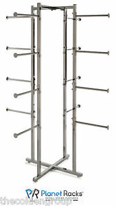 Folding Lingerie Clothing Display Rack 16 Round Arms