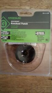 Greenlee 721 1 1 2p Slug Buster Ko Punch