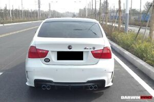 2009 2012 Bmw 3 Series E90 4dr Sedan Lci 1m Style Rear Bumper Body Kit