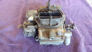 Ford 4 Barrel Carburetor Motorcraft Holly List 50262 1 84 87 Ford Truck Ca