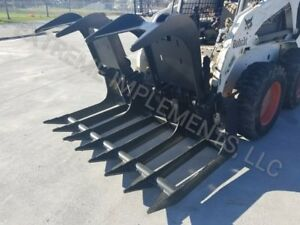 72 Extreme Root Grapple Bucket Skid Steer Quick Connect ship 199