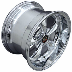 Chrome 17 Rim Mustang Bullitt Style Wheel 17x10 5
