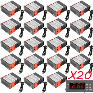 20 X Universal Stc 1000 Digital Temperature Controller Thermostat Sensor 110v Ex