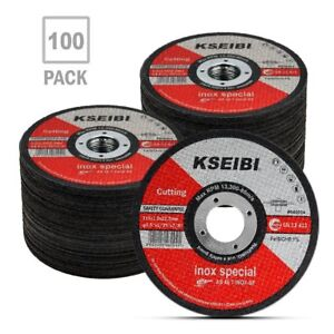 Metal Stainless Steel Cutting Disc 4 1 2 x 040 x7 8 Cut off Wheel T41 100 Pack