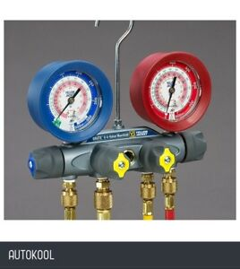 Yellow Jacket Brute Ii Refrigeration Manifold Gauge Only R134a R404a R407c