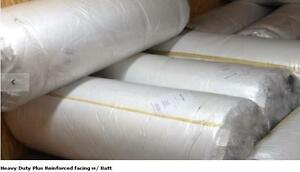 Steel Building Insulation 3 th X 4 w X 100 l St Reinforced W Batt rolls