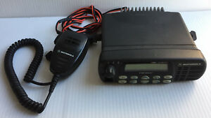 Motorola Cdm1550ls Aam25rhf9dp5anst Two way Radio W Mic As Is For Parts