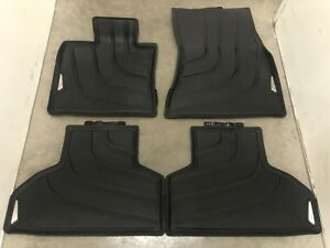 Bmw X5 X6 F15 All Weather Floor Mats Front Rear 2014 2017 Mud Snow Winter Season