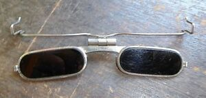 Vintage Fendall Narrow Clip on Sunglasses Welding Safety Swivel Lenses Free Ship