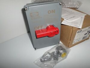 new In Box Hubbell Hblds3ac Circuit Lock 30 amp Disconnect Switch 600v 30a