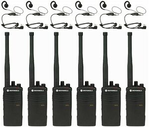 6 Motorola Rdv5100 Vhf Radios Headsets Rebate For A Free Multi unit Charger
