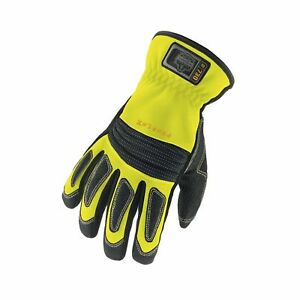 Proflex 730 Fire Rescue Performance Work Gloves Lime X large
