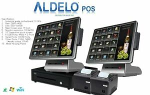 Aldelo Pos Pro Asian Mexican Italian Restaurant Windows 10 Computer System New