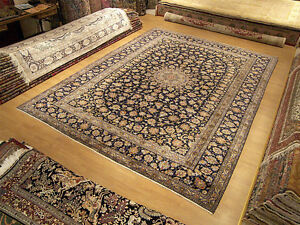 10 X 13 Handmade Fine Quality Signed Antique Persian Oriental Soft Wool Rug