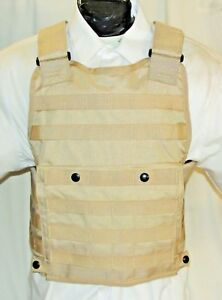 New Small IIIA Tactical Plate Carrier Body Armor Bullet Proof Vest Dupont Kevlar