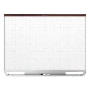 Quartet Prestige 2 Connects Magnetic Total Erase Whiteboard 48 X 36 Mahogany