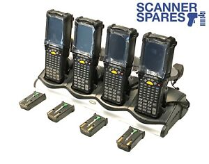 Lot Of 4 Symbol Mc9090 gf0hbega2wr 1d Laser Ce 5 Barcode Scanner