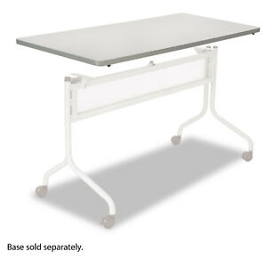 Safco Impromptu Series Mobile Training Table Top Rectangular 60w X 24d Gray
