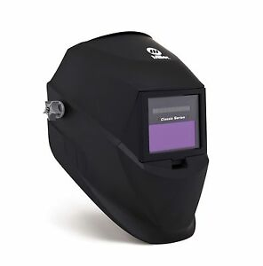Miller Auto darkening 251292 Welding Helmet Variable Shade Classic Series Black