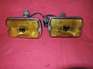 Marchal 750 Chrome Fog Lights Mustang Lincoln Jeep Capri