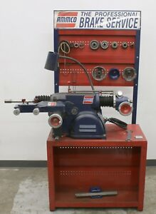 Nice Used Ammco 4000b Disc And Drum Brake Lathe W Stand Adapters