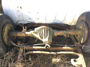 92 00 Chevy Gmc Truck 3500 Rear Axle 4 10 Gt5 G80 4x2 Srw Full Floater 14 Bolt