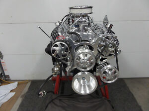 Chevy 350 Turn Key Hi Performance Roller Engine 400 Hp Loaded Cr Ehrb 50