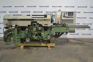 Weinig Profimat 22n 6 head Feed Through Wood Moulder Planer