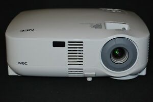 Nec Vt580 Home Theater Projector With 256 Used Lamp Hours
